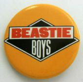 Beastie Boys - 'Logo' 32mm Badge